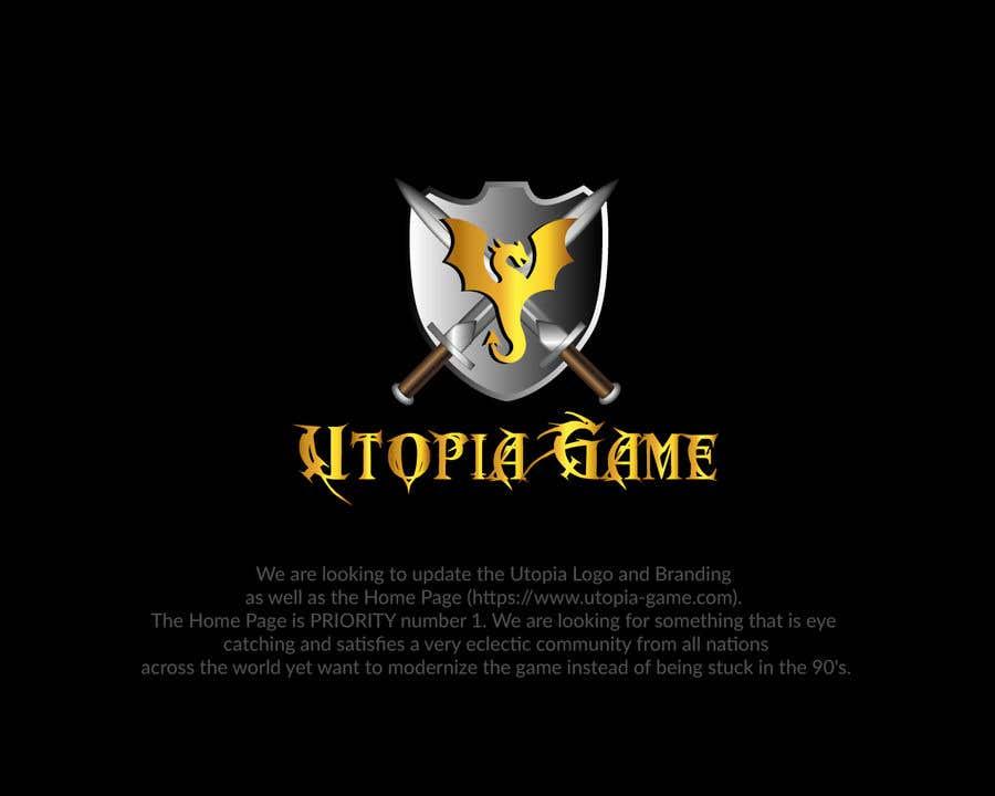 Bài tham dự cuộc thi #                                        47                                      cho                                         Utopia Game Home Page and Logo