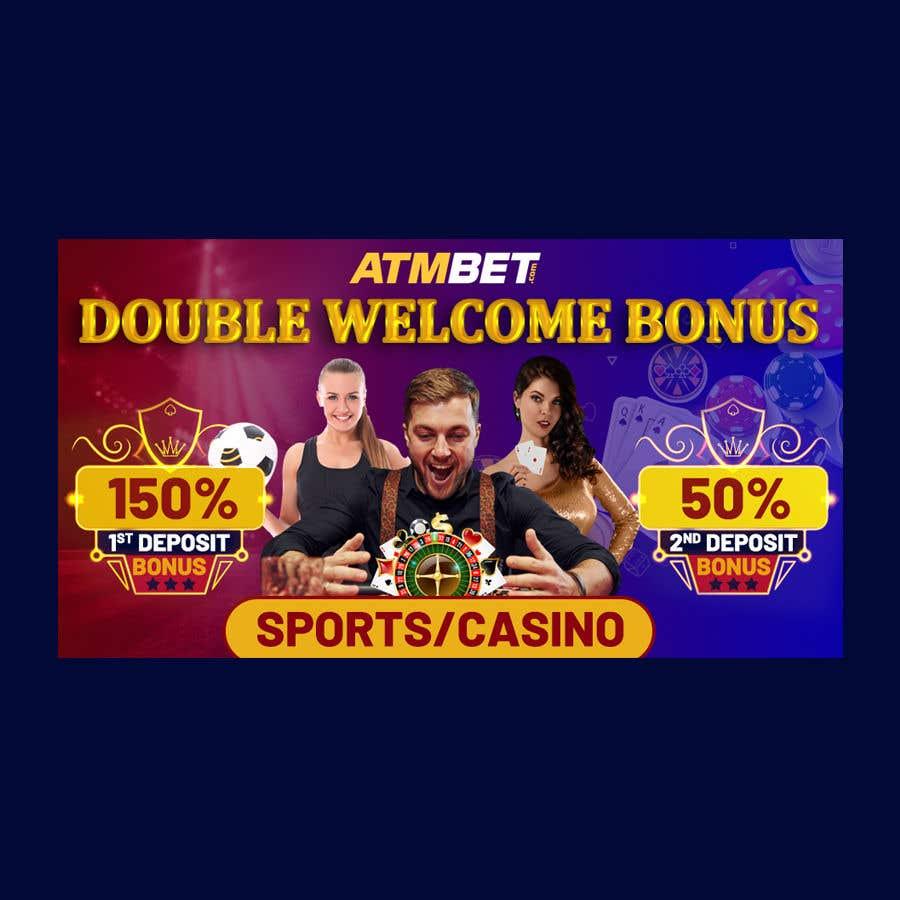 Proposition n°                                        28                                      du concours                                         Double Welcome Bonus Banner