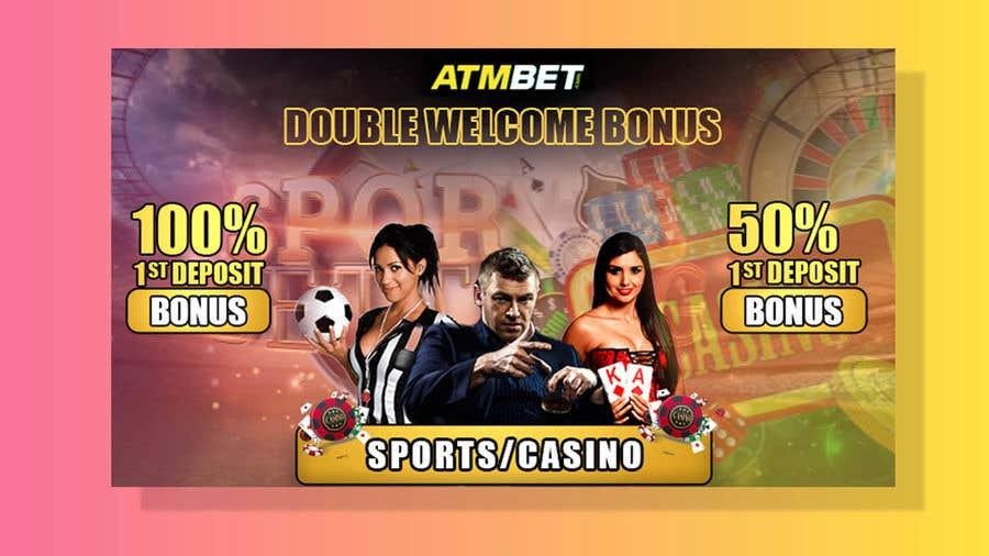 Proposition n°                                        42                                      du concours                                         Double Welcome Bonus Banner