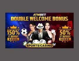 nº 20 pour Double Welcome Bonus Banner par Shubash1994