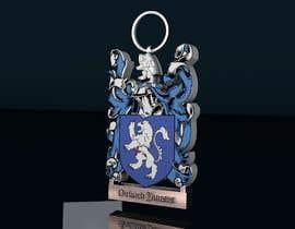 #18 para Design a 3d Model Keychain STL for 3d printing por snisa26