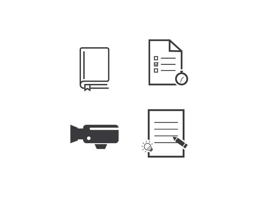 Penyertaan Peraduan #                                        23                                      untuk                                         6 icons for a website