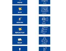 #26 untuk 6 icons for a website oleh imrankhan5665