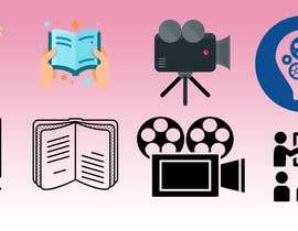 #19 untuk 6 icons for a website oleh Creativetaslim