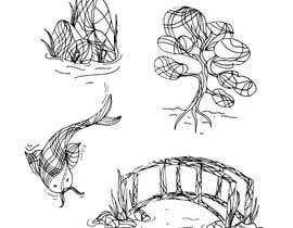 #18 untuk line art for background drawings on website oleh ElTzil