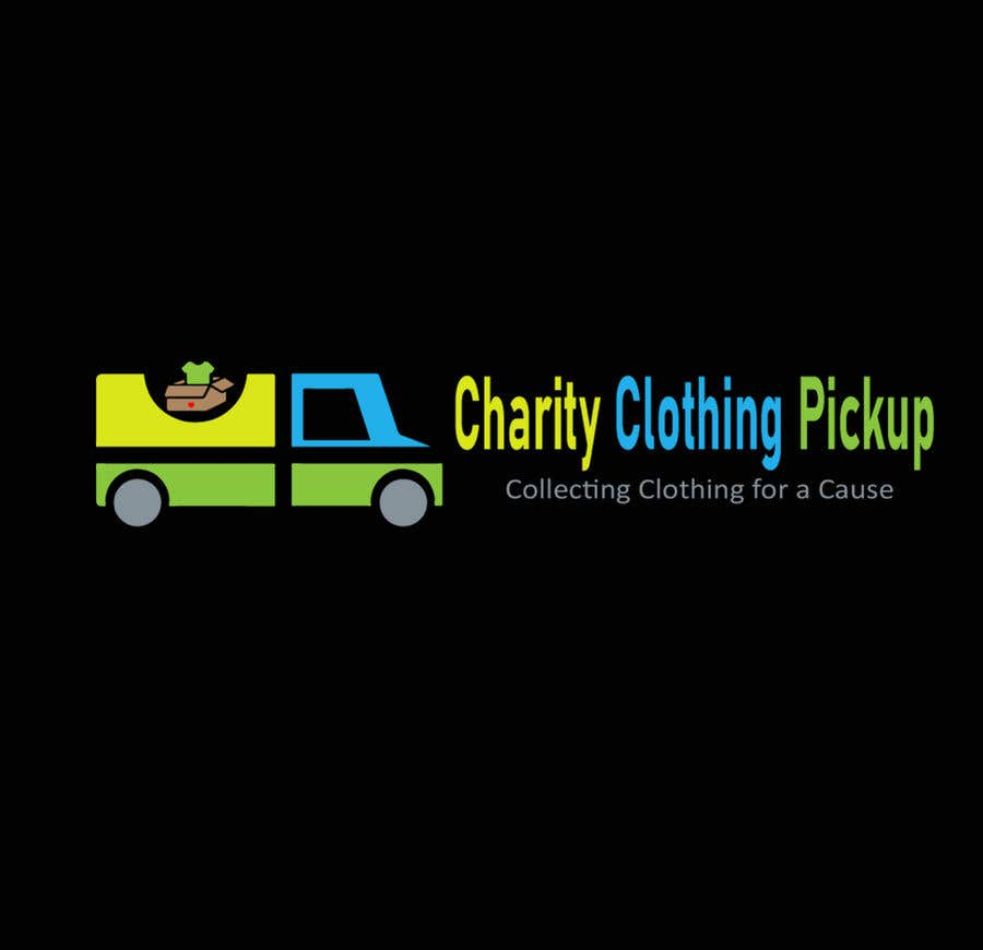 Contest Entry #                                        6                                      for                                         Charity Clothing Pickup Logo