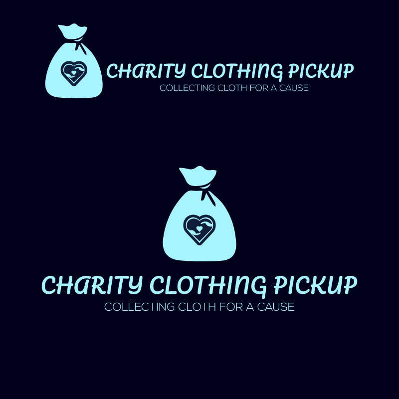 Contest Entry #                                        25                                      for                                         Charity Clothing Pickup Logo
