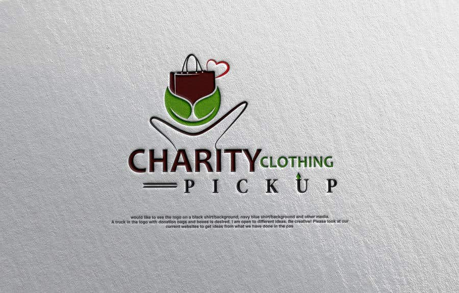 Contest Entry #                                        3                                      for                                         Charity Clothing Pickup Logo