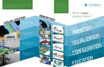 Graphic Design Konkurrenceindlæg #2 for Urgent-style a 3-fold brochure for services (themes of 3D, animation, apps)