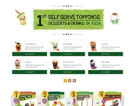 #25 for Design a Website Mockup for Bubble Tea business af websoft07