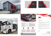 Bài tham dự #35 về Graphic Design cho cuộc thi Forwarder coordinated image and truck+ trailer image