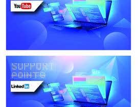 Nro 5 kilpailuun Banner design for technical platform käyttäjältä Graphicmoktar