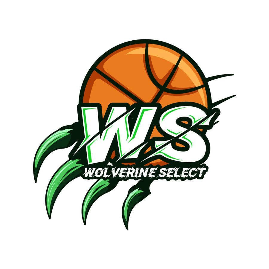 Konkurrenceindlæg #                                        36                                      for                                         Logo for Basketball team (Wolverine Select)