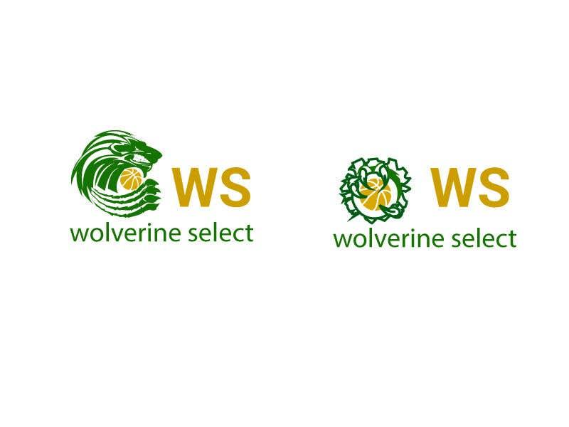 Konkurrenceindlæg #                                        12                                      for                                         Logo for Basketball team (Wolverine Select)