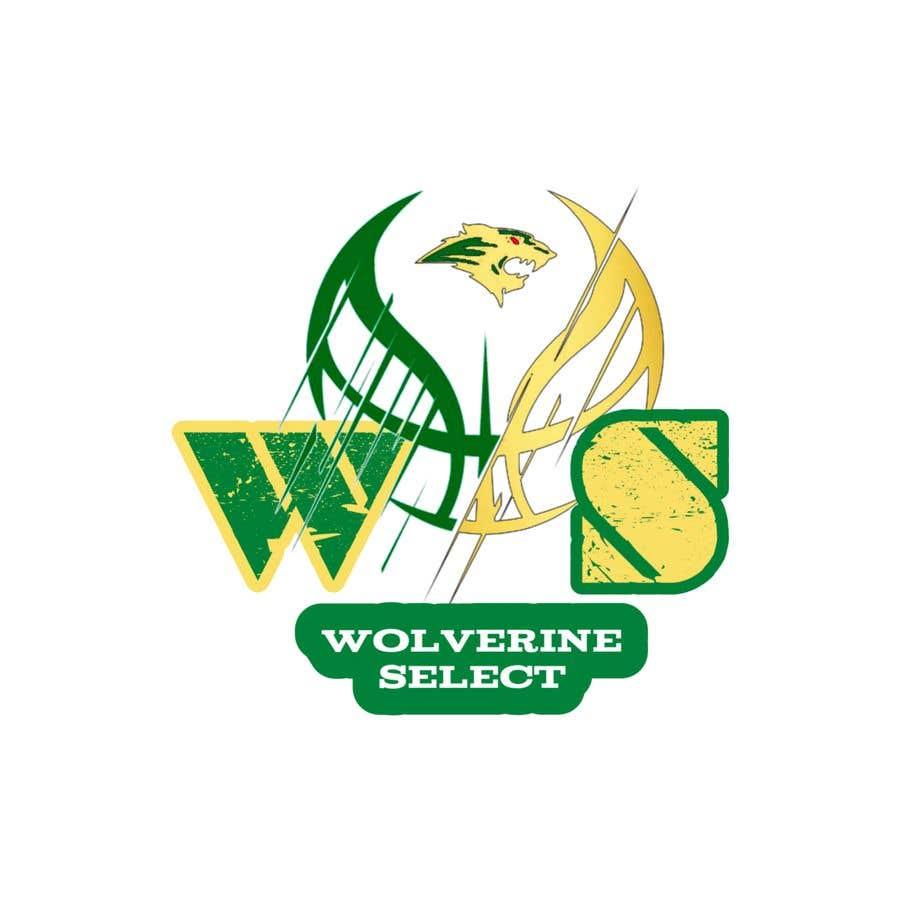 Konkurrenceindlæg #                                        32                                      for                                         Logo for Basketball team (Wolverine Select)