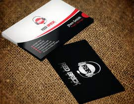 #12 untuk reDesign Business Card for red brick records oleh nazmulhassan2321