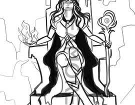 #23 para Goddess of a crypto world (Dark comics) por beeamoreira