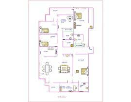 #9 for Floor plan for new flat ideas by AshikGhosh477