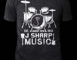 #177 for Design Company T-Shirt for a Local Music Store! by rashedul1012