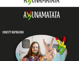 #80 for Design a Rasta/Hippy style Logo for Akunamatata by Thinkcreativity