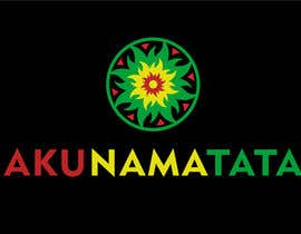 #89 for Design a Rasta/Hippy style Logo for Akunamatata by Thinkcreativity