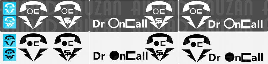 """Kilpailutyö #21 kilpailussa Design a Logo for """"Dr OnCall"""" application/website"""