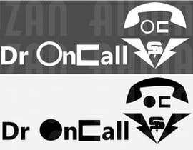 "nº 21 pour Design a Logo for ""Dr OnCall"" application/website par azon04"