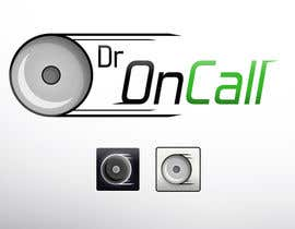 "#2 para Design a Logo for ""Dr OnCall"" application/website por elliotthefford"
