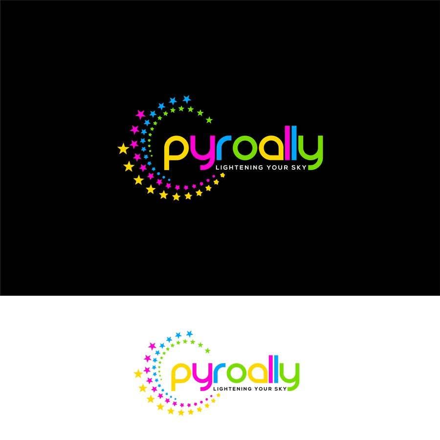 Kilpailutyö #                                        185                                      kilpailussa                                         create a fireworks product logo