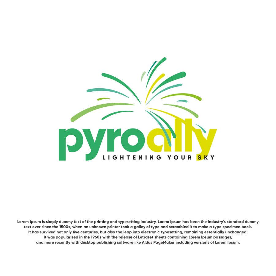 Kilpailutyö #                                        164                                      kilpailussa                                         create a fireworks product logo