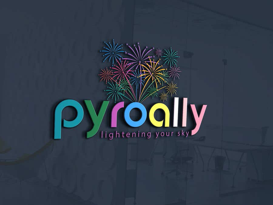 Kilpailutyö #                                        186                                      kilpailussa                                         create a fireworks product logo