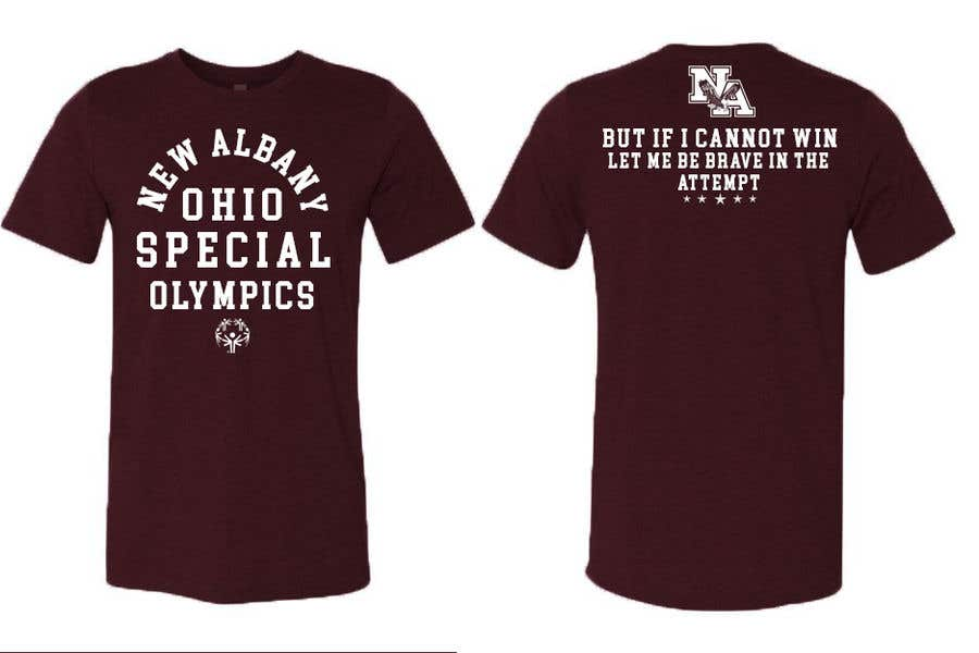 Konkurrenceindlæg #                                        46                                      for                                         New albany Special Olympics Tee Shirt Design