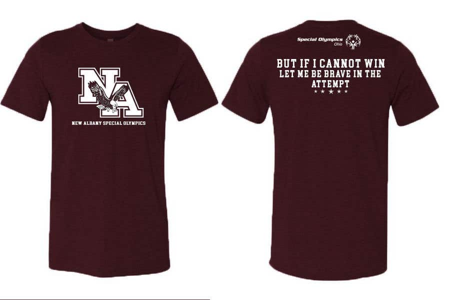 Konkurrenceindlæg #                                        51                                      for                                         New albany Special Olympics Tee Shirt Design
