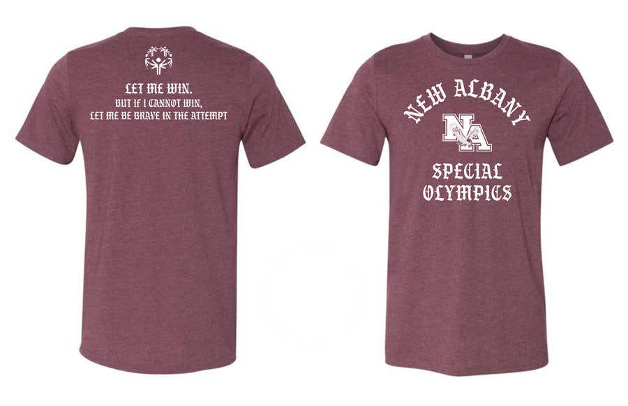 Konkurrenceindlæg #                                        130                                      for                                         New albany Special Olympics Tee Shirt Design