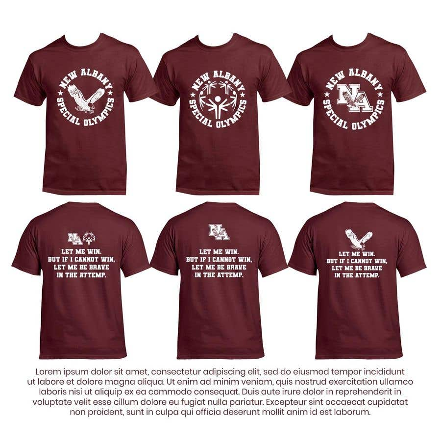 Konkurrenceindlæg #                                        48                                      for                                         New albany Special Olympics Tee Shirt Design
