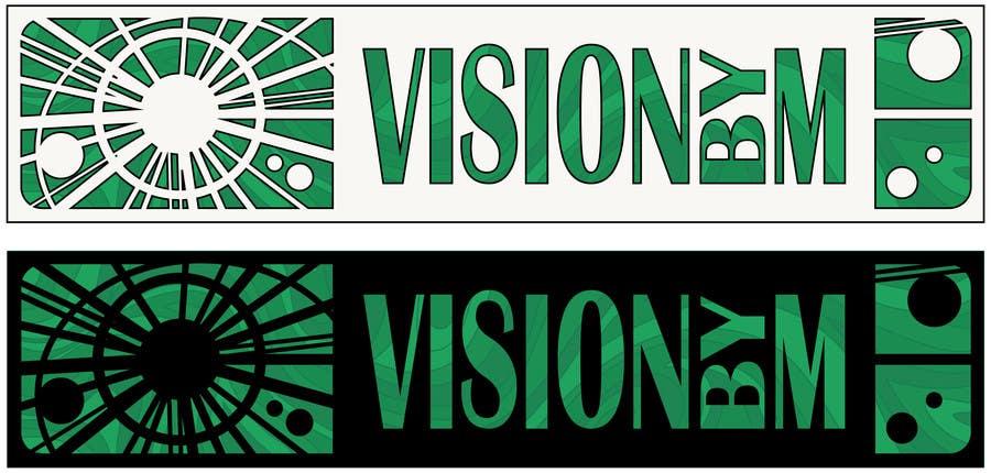 Bài tham dự cuộc thi #33 cho Design a Logo for Fashion show apparel- VISION by M