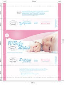 #9 cho Create Print and Packaging Designs for A Baby Wet Wipes bởi RainMQ