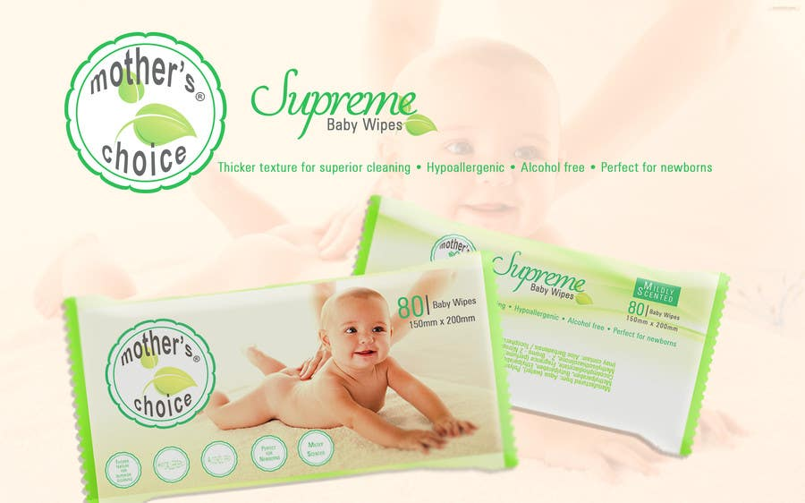 Inscrição nº 15 do Concurso para Create Print and Packaging Designs for A Baby Wet Wipes