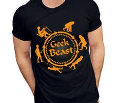 nuri47908 tarafından T-shirt Design for Geek/Tech content creator için no 31