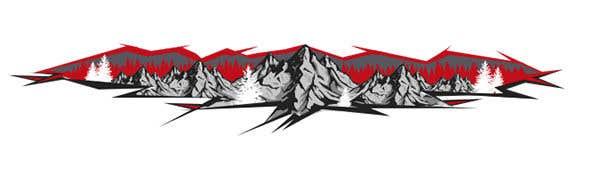 Konkurrenceindlæg #                                        11                                      for                                         VW Bulli Camper VAN Sticker Design