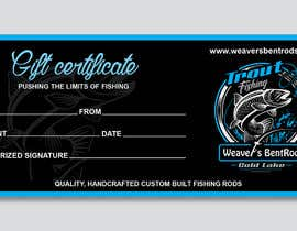 #47 for Gift certificate template by imranislamanik