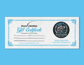 #49 for Gift certificate template by TheCloudDigital