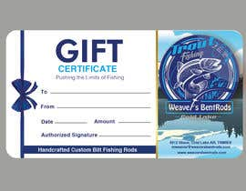 #53 for Gift certificate template by tapasmuduli1