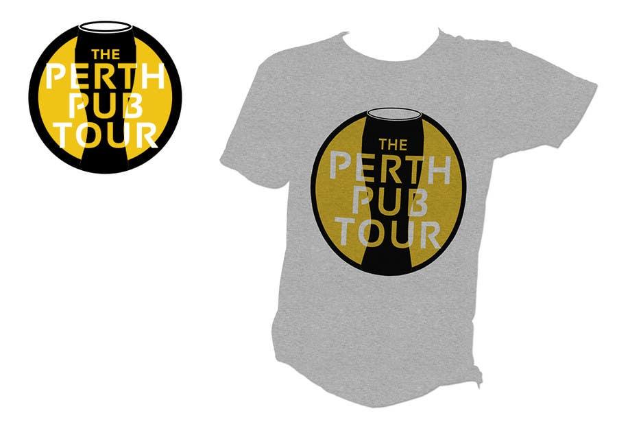 Penyertaan Peraduan #8 untuk Design a Logo for The Perth Pub Tour