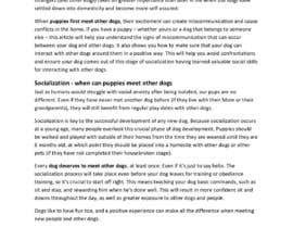 #22 para Write two blog articles about raising puppies (opportunity for long-term collaboration) por GooglerzVA