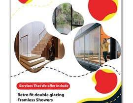 rronaeemur24 tarafından design a flyer for wellington construction glazing için no 78