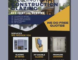 dali29385 tarafından design a flyer for wellington construction glazing için no 92