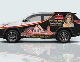 #33 for Partial vehicle wrap design by Fardos20