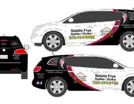 #31 for Partial vehicle wrap design by malimali110