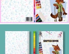 Nro 8 kilpailuun Design a Sketch Book Cover (Front, Back and Spine) käyttäjältä KenanTrivedi